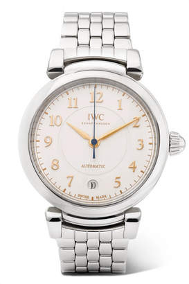 IWC SCHAFFHAUSEN - Da Vinci Automatic 36mm Stainless Steel Watch - Silver