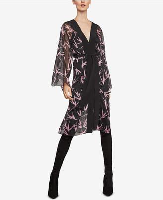BCBGMAXAZRIA Printed Kimono Dress