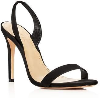 Schutz Women's Luriane Suede Slingback High-Heel Sandals