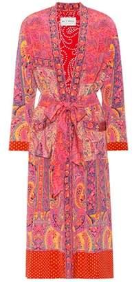 Etro Printed silk robe