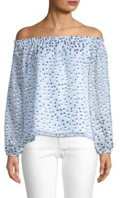 Lilly Pulitzer Lou Lou Off-The-Shoulder Top
