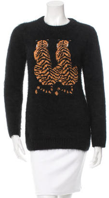 Mulberry Angora Double Tiger Sweater $195 thestylecure.com