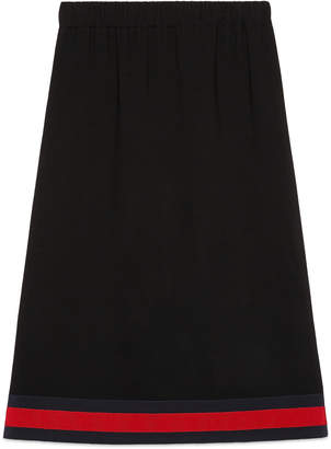 Viscose skirt with Web $1,100 thestylecure.com