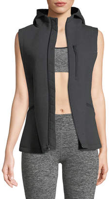 Under Armour Spacer Hooded Zip-Front Vest