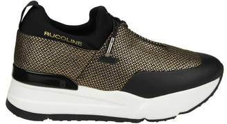 Ruco Line Rucoline essentiel Sneakers In Network And Black And Pink Color