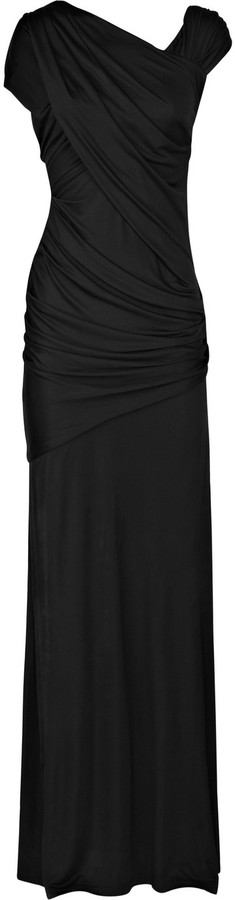 Alexander Wang Draped satin-jersey gown