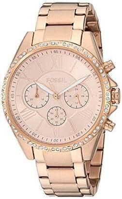 Fossil Women's ' Modern Courier Quartz Stainless Steel Watch