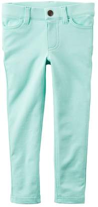 Carter's Girls 4-8 French Terry Colored Jeggings