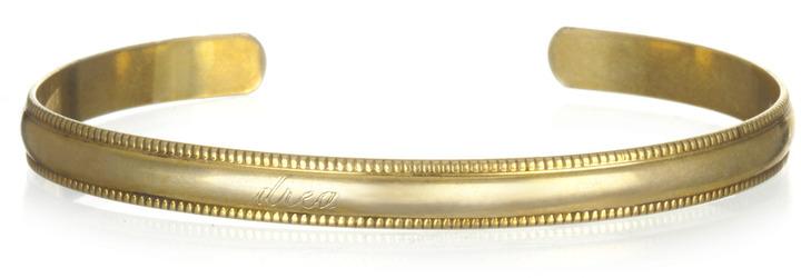 Soixante Neuf Thin Cuff, Gold