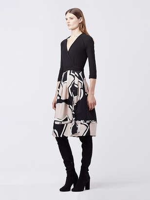 New Jewel Wrap Dress $568 thestylecure.com