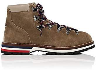 Moncler Men's Peak Suede Hiking Boots - Brown