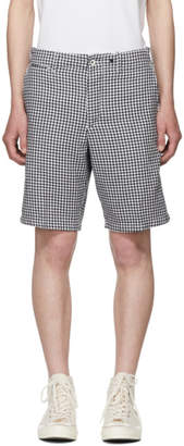 Rag & Bone Navi Gingham Base Shorts