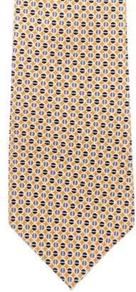 Burberry Silk Print Tie
