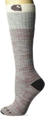 Carhartt Women's Marled Knee High Socks