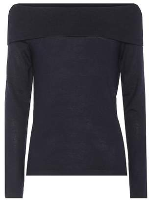 Jardin des Orangers Off-the-shoulder wool sweater