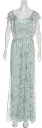 Needle & Thread Embellished Evening Dress w/ Tags