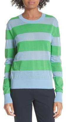 Diane von Furstenberg Colorblock Stripe Sweater