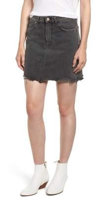 DL1961 Georgia Cutoff Denim Skirt