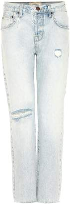 Current/Elliott The Crossover distressed cropped jeans