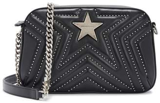 Stella McCartney Small Studded Faux Leather Shoulder Bag