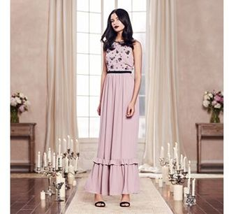 LC Lauren Conrad Runway Collection Embellished Maxi Dress - Women's $80 thestylecure.com