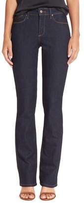 Women's Nydj 'Billie' Stretch Mini Bootcut Jeans (Dark Enzyme) $114 thestylecure.com
