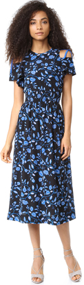 Rebecca Taylor Open Shoulder Kyoto Dress $575 thestylecure.com