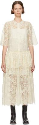 Sara Lanzi White Lace Dress