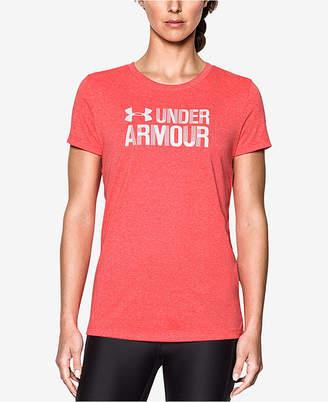 Under Armour Threadborne Siro Logo T-Shirt