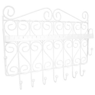 HOME BASICS Home Basics Wall Mounted Jewelry Organizer