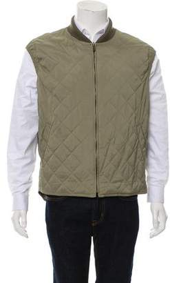 Loro Piana Quilted Padded Vest