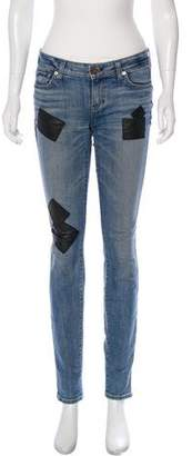 Elizabeth and James Low-Rise Skinny Jeans