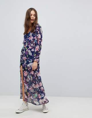 Brave Soul Saskia Cover Up Sheer Maxi Dress
