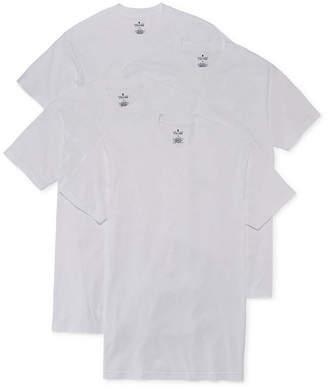 STAFFORD Stafford 4-pk. Cotton Crewneck T-Shirts-Big & Tall