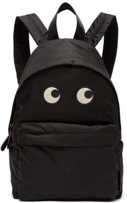Anya Hindmarch Eyes Backpack - Womens - Black