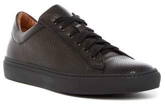 Aquatalia Andre Woven Leather Weatherproof Sneaker