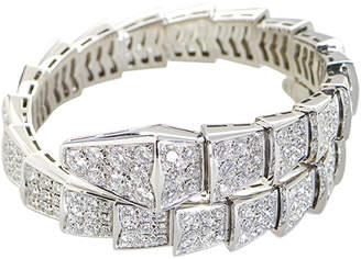 Bulgari 18K 9.15 Ct. Tw. Diamond Bracelet