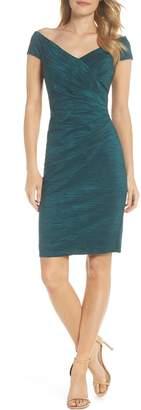 Eliza J Taffeta Body-Con Dress