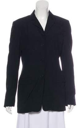 Calvin Klein Collection Wool Notch-Lapel Blazer