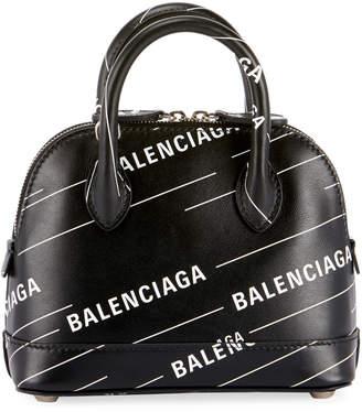 Balenciaga Ville XXS Logo Top-Handle Bag