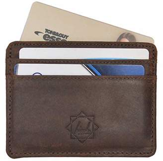 Ultra slim RFID blocking credit card holder with 1 partition