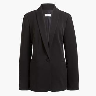 J.Crew One-button twill blazer