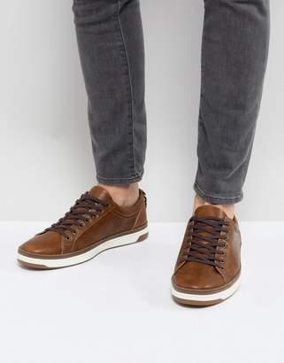 Aldo Unoclya Low Sneakers In Tan