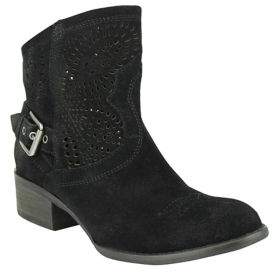 Naughty Monkey Zoey Suede Booties