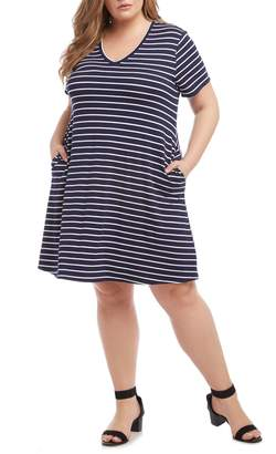 Karen Kane V-Neck Pocket Dress