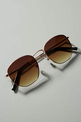 Anthropologie Tina Rounded Sunglasses