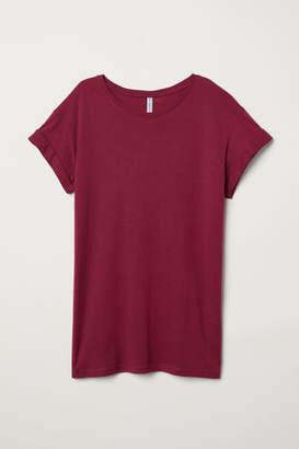 H&M Long T-shirt - Pink