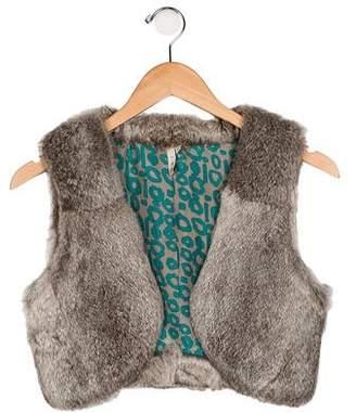 IRO Fur Cropped Vest