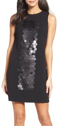 Women's Vera Wang Embellished Shift Dress $258 thestylecure.com