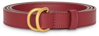 Burberry smooth slim belt